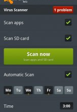 avast! Mobile Security 1.0.1123