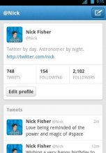 Twitter 3.0 for Android